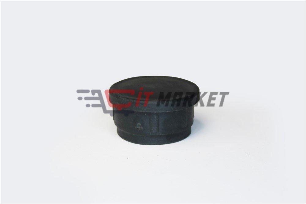 Pipe Black Round Profile Cap 20 Pieces
