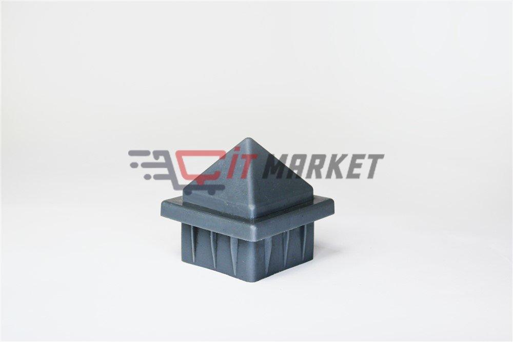 Plastic Anthracite Gray Cap 20 Pieces