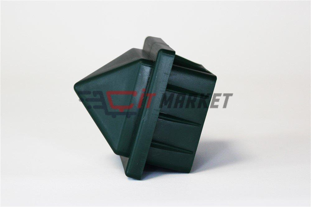 Plastic Green Cap 20 Pieces