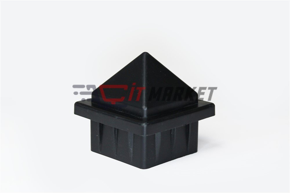 Plastik Siyah Şapka 20 Adet